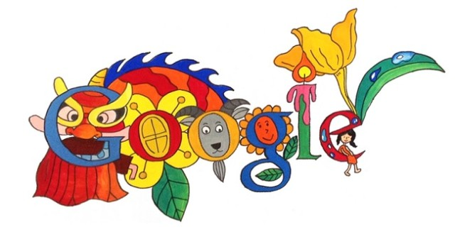 Doodle Vietnam Festa dei bambini
